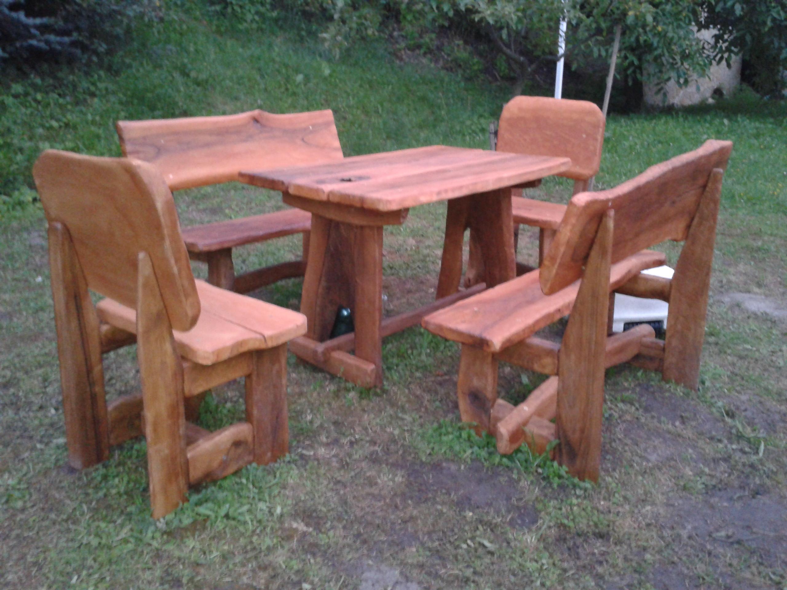 d4bfcb446df3 Záhradný nábytok z masívu na mieru